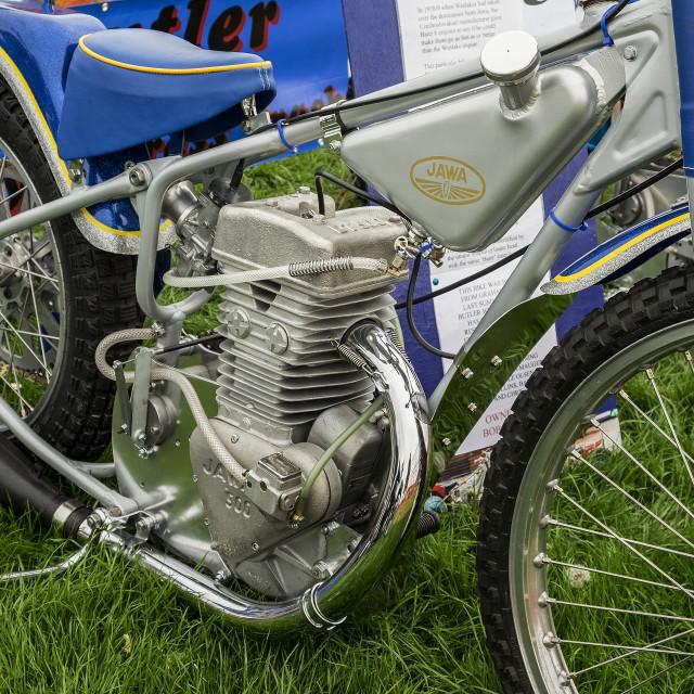 """500cc jawa."" stock image"