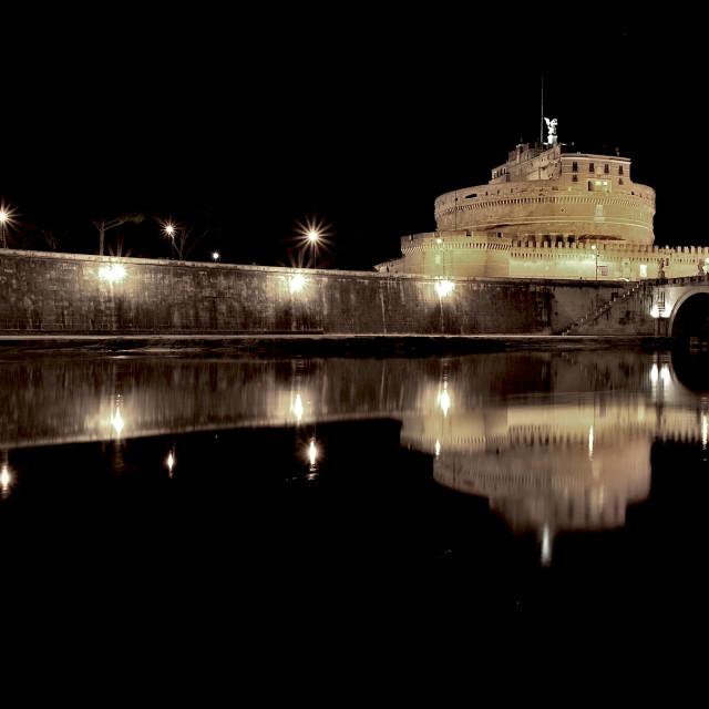 """Castel Sant'Angelo"" stock image"