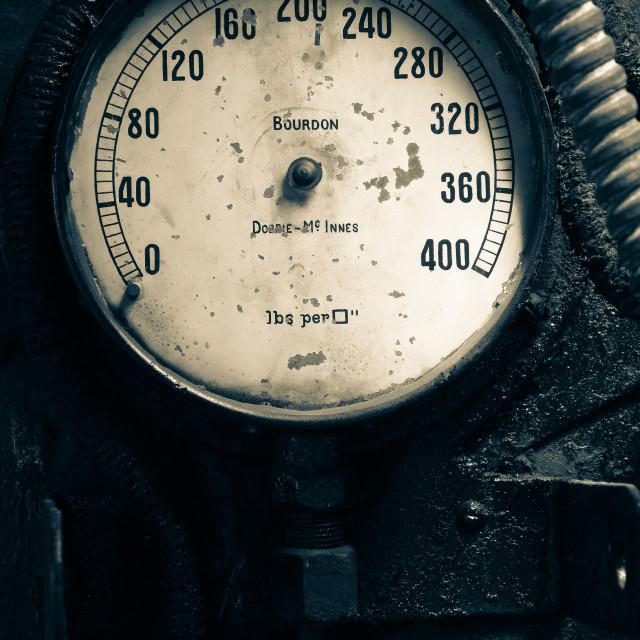 """""""pressure guage"""" stock image"""