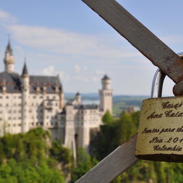 """""""Love in Germany"""" stock image"""
