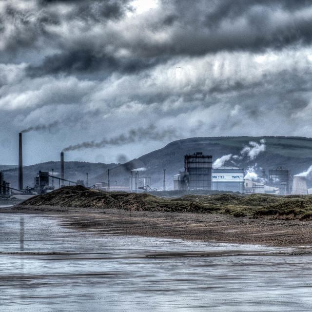 """Good Morning Port Talbot"" stock image"
