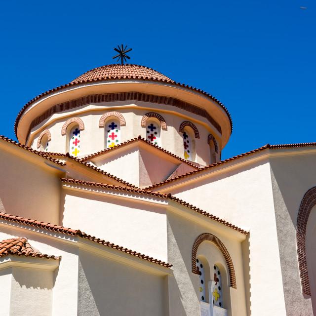"""""""Monastery Saint Gerasimos"""" stock image"""