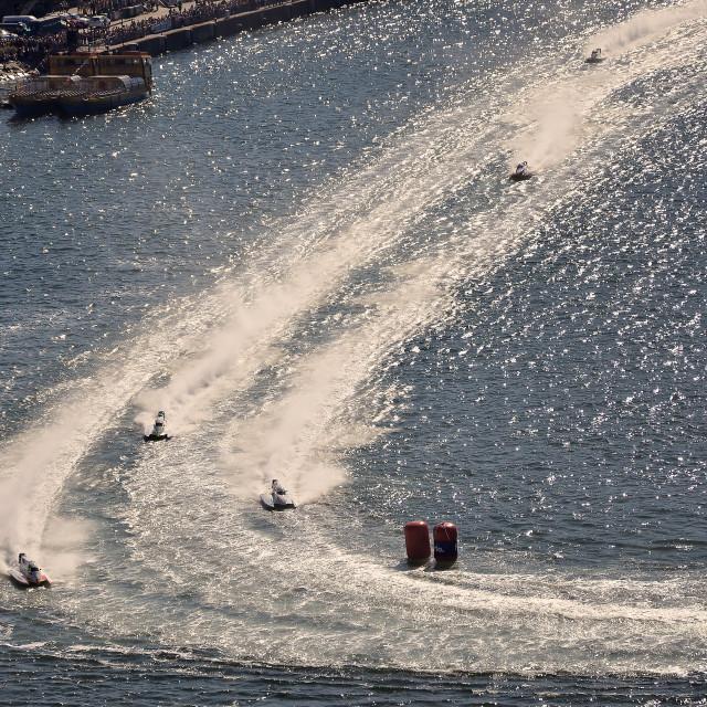 """""""F1H2O World Championship 2015 Porto Portugal"""" stock image"""