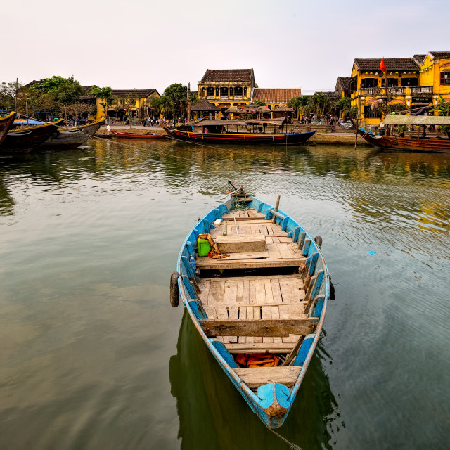 """Fishing Boat Hoi An Vietnam"" stock image"