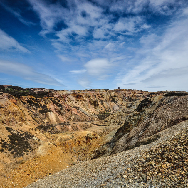 """""""Copper Pit"""" stock image"""