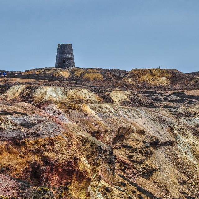 """""""Copper Desolation"""" stock image"""