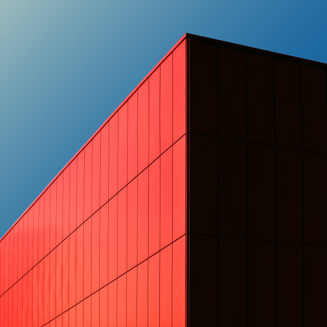 """Red Cube"" stock image"