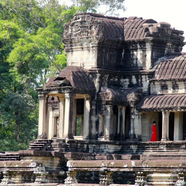 """Angkor Watt"" stock image"