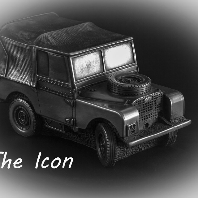 """Land Rover the Icon"" stock image"