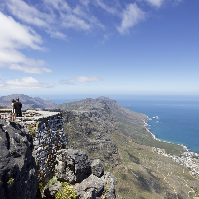 """""""Table Mountain, Cape Town"""" stock image"""