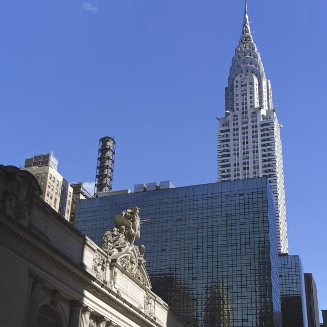 """""""Chrysler Building, New York"""" stock image"""