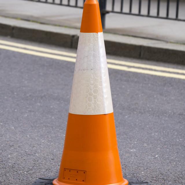 """Traffic Cone"" stock image"