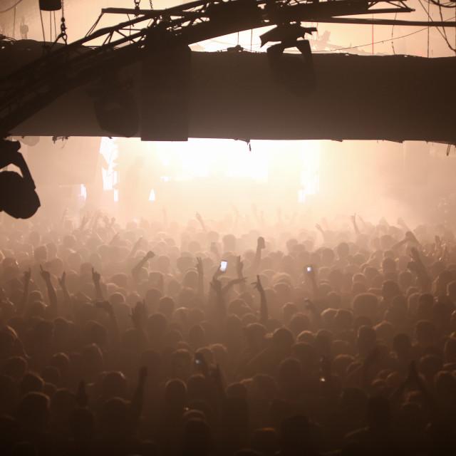 """Warehouse Crowd 1"" stock image"