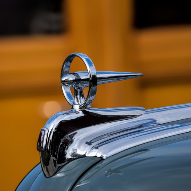 """Buick Hood Ornament"" stock image"
