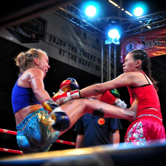 """Muay Thai"" stock image"