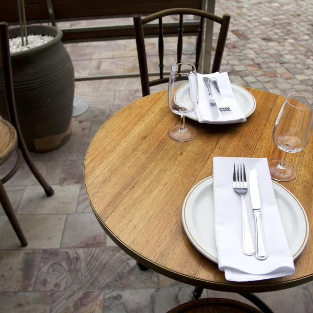"""Restaurant, Lunch"" stock image"