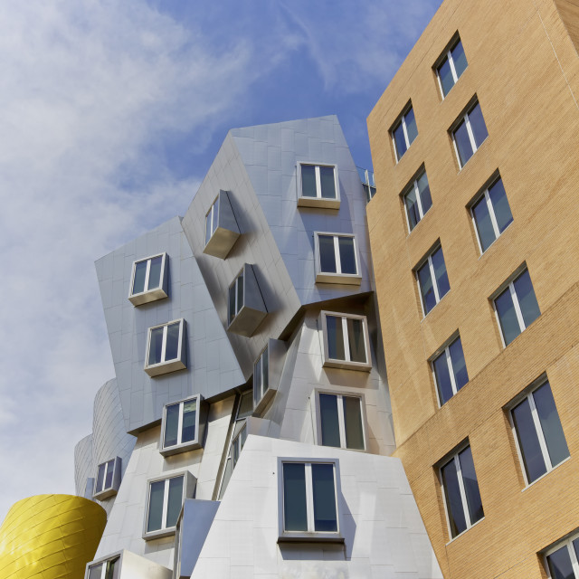 """Modern architecture, Boston, USA"" stock image"