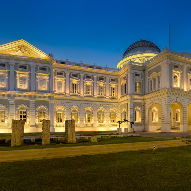 """National Museum Of Singapore"" stock image"