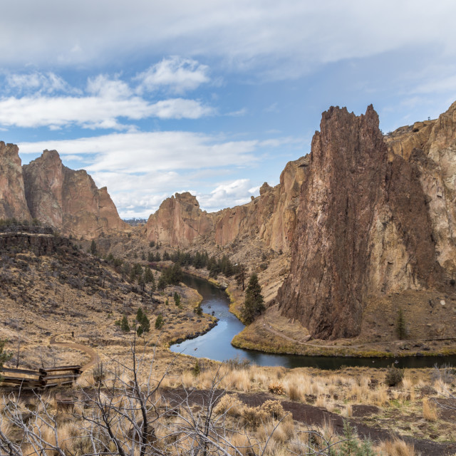 """Smith Rock State Park, Oregon"" stock image"
