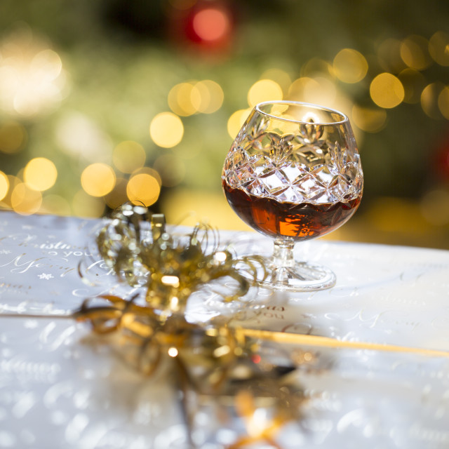 """Christmas Party"" stock image"