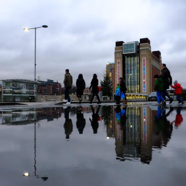 """Baltic puddle"" stock image"