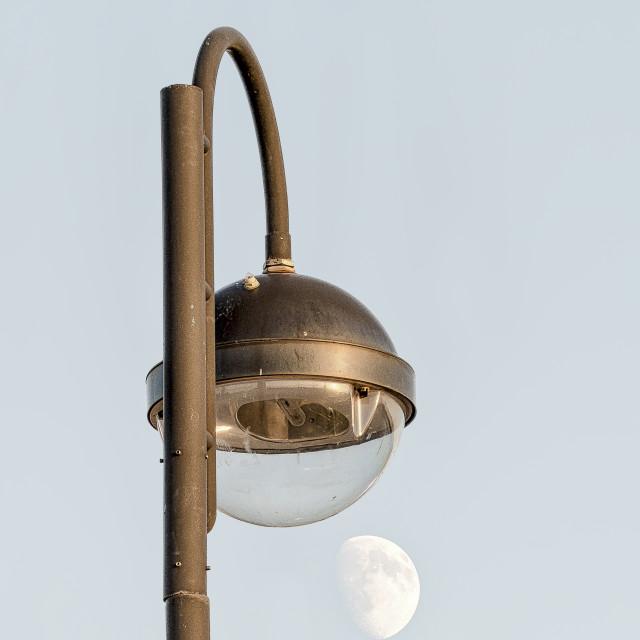"""Moon light"" stock image"