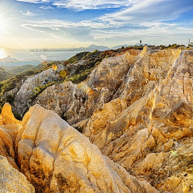"""""""Grand Canyon in hong kong"""" stock image"""