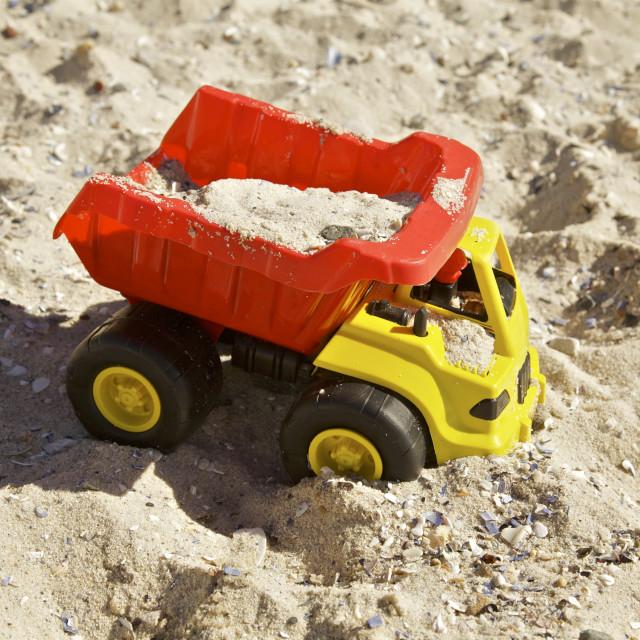 """Beach Toy"" stock image"