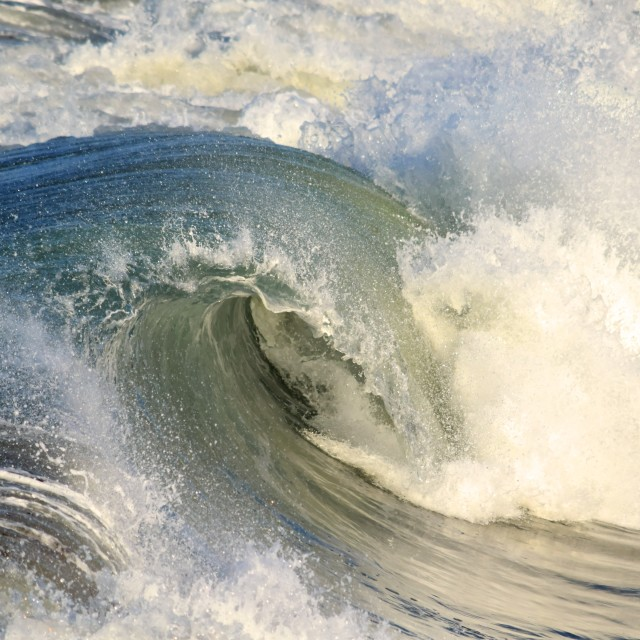 """Stunning Wave"" stock image"