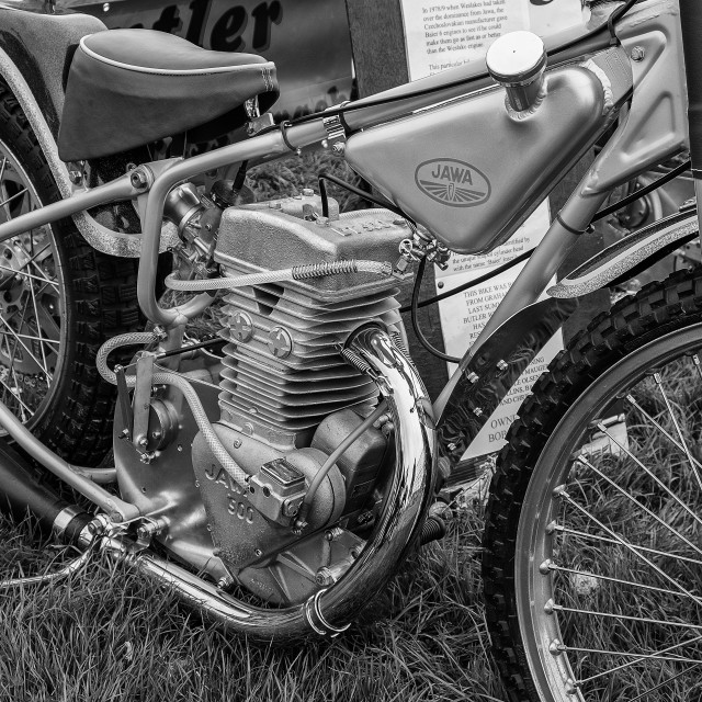 """Jawa 500cc"" stock image"