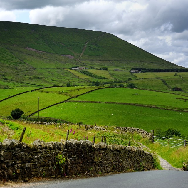"""Pendle Hill"" stock image"