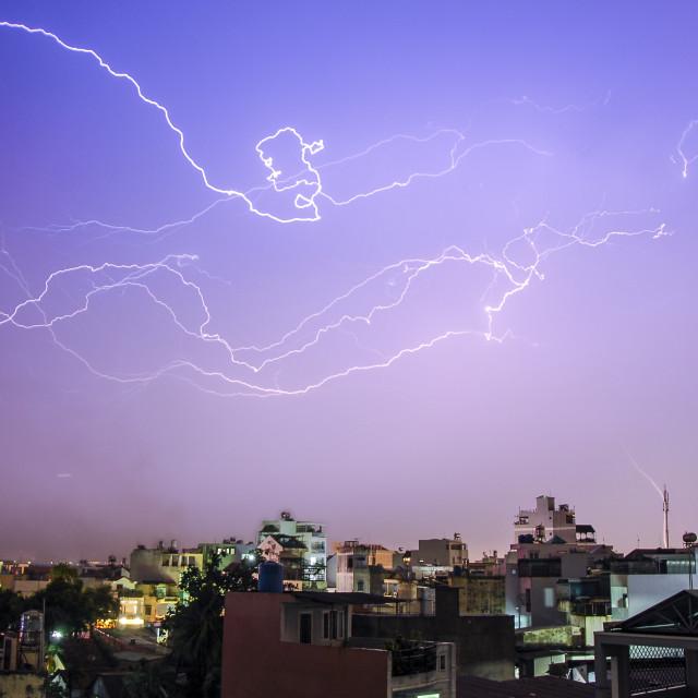 """Thunderstorm"" stock image"