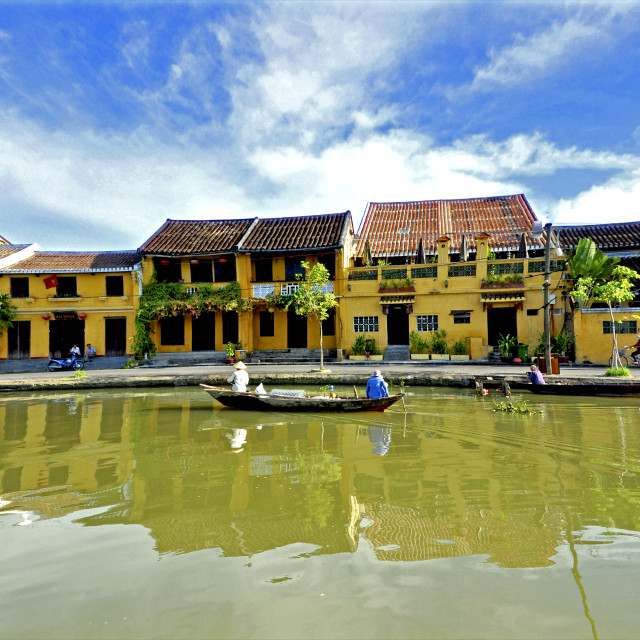 """""""Hoian Ancient town"""" stock image"""