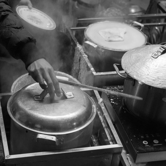 """Street Food Symphony"" stock image"