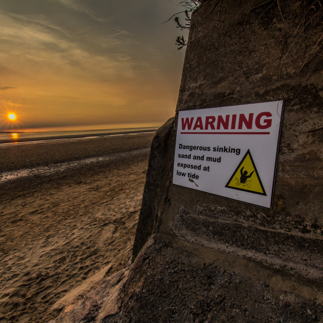 """Warning signs"" stock image"