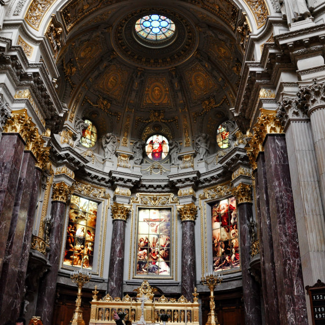 """""""Berlin Cathedral"""" stock image"""