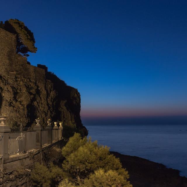 """Sicilian sunrise"" stock image"