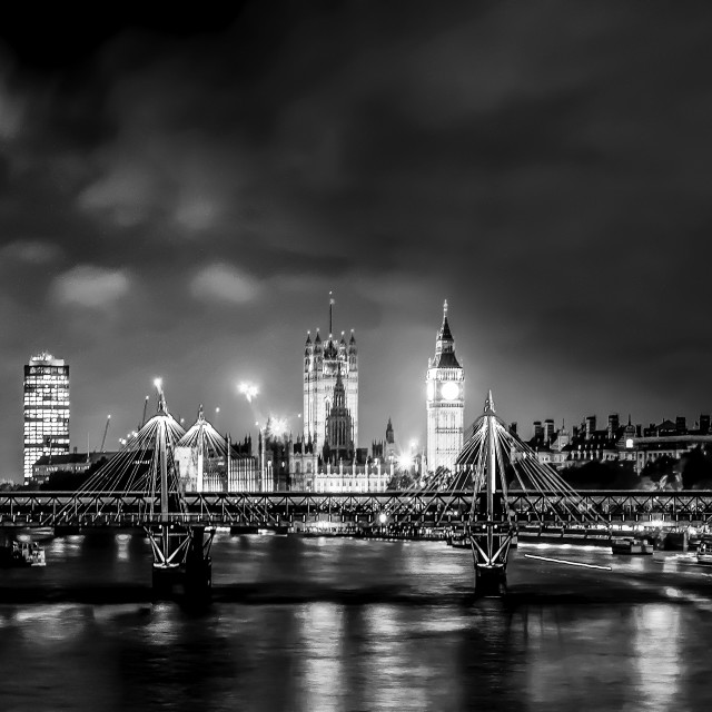 """London Nights"" stock image"