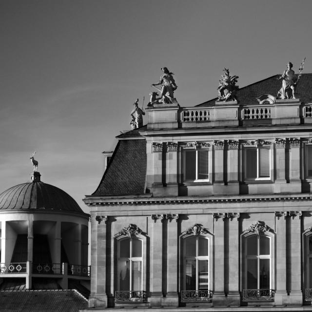 """""""Schlossplatz Stuttgart"""" stock image"""