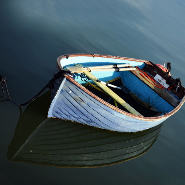 """Small boat"" stock image"