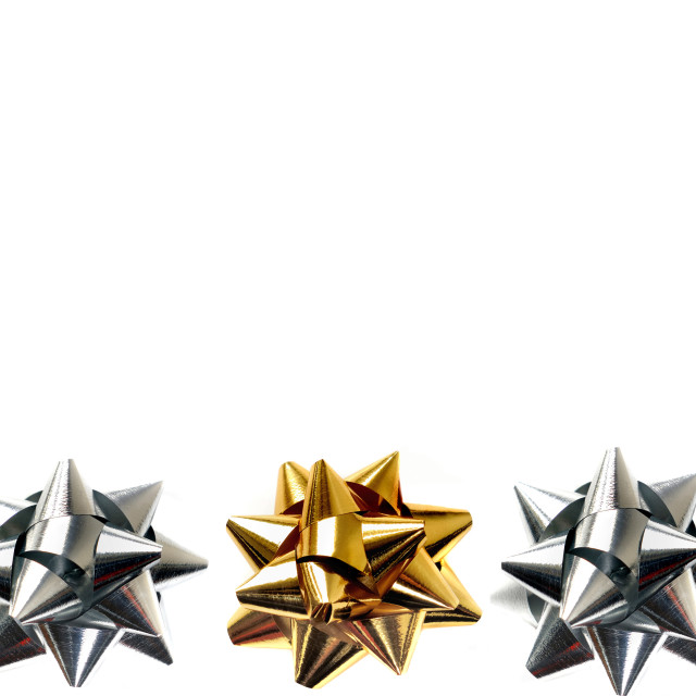 """""""silver and golden stars"""" stock image"""
