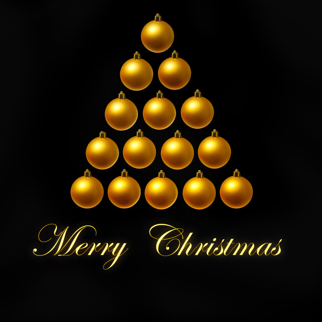 """""""conceptual Christmas tree"""" stock image"""