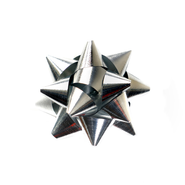"""""""silver paper star"""" stock image"""