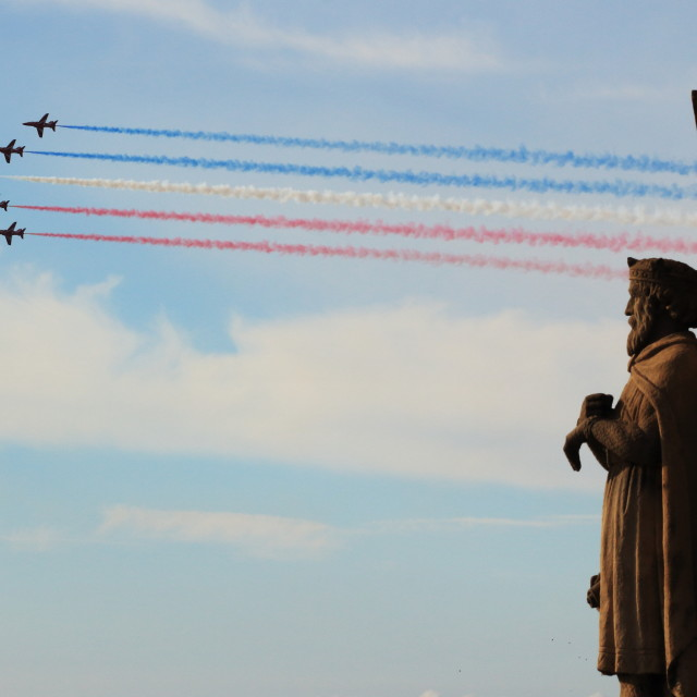 """""""Red Arrows"""" stock image"""
