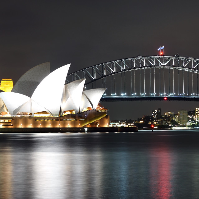 """The Sydney Opera House"" stock image"