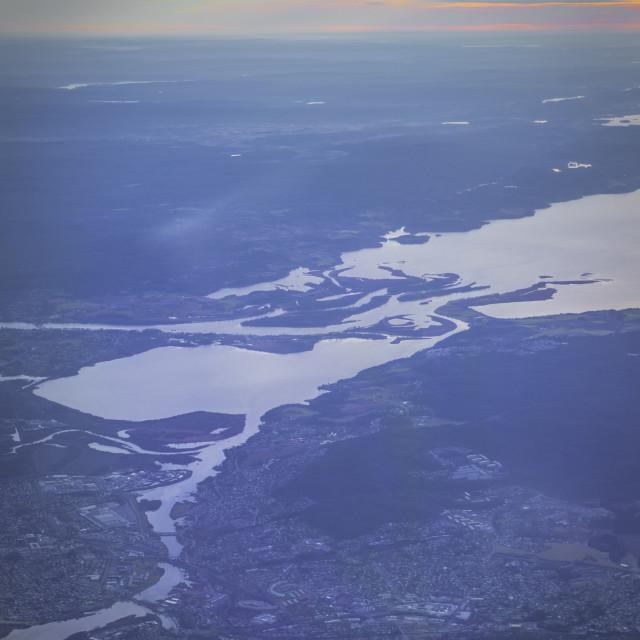 """Pastel Fjord"" stock image"