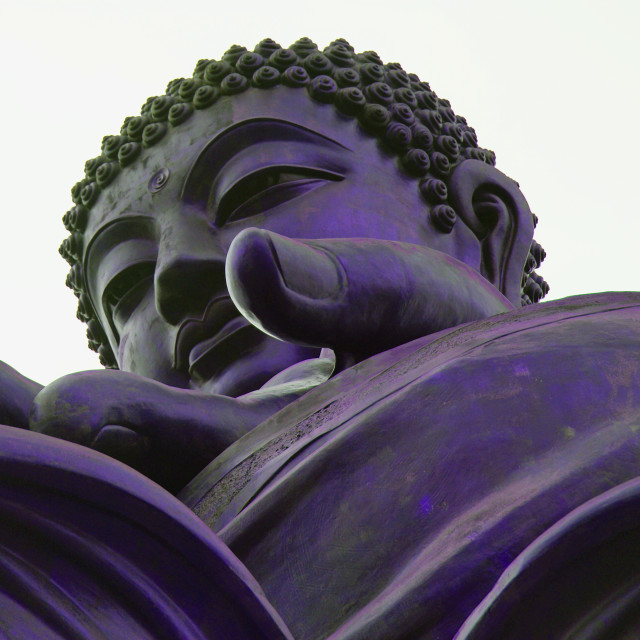 """The big Buddha"" stock image"
