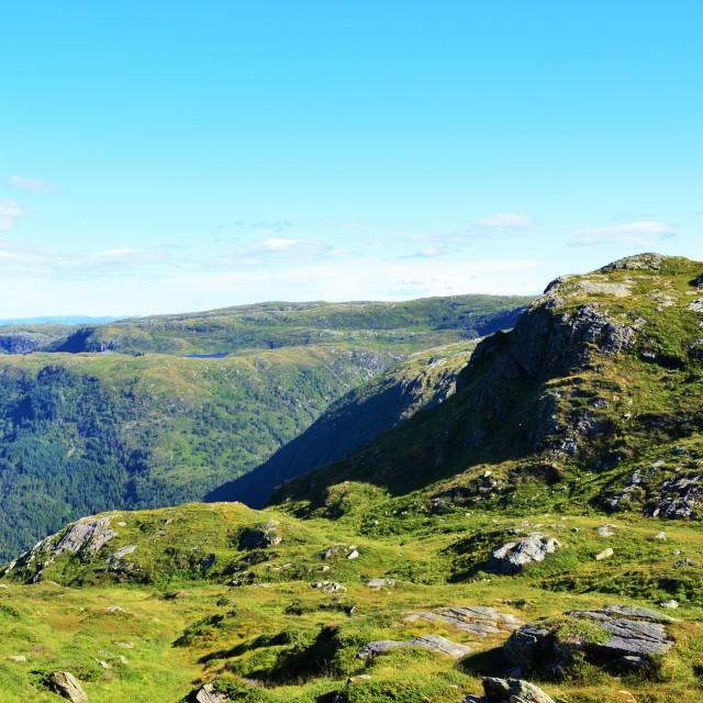 """Norwegian Countryside."" stock image"