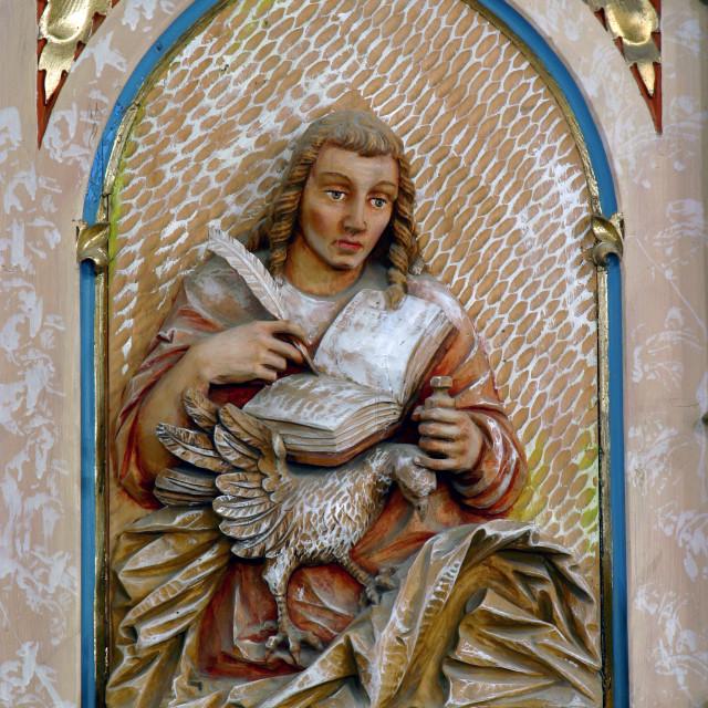 """St. John the Evangelist"" stock image"