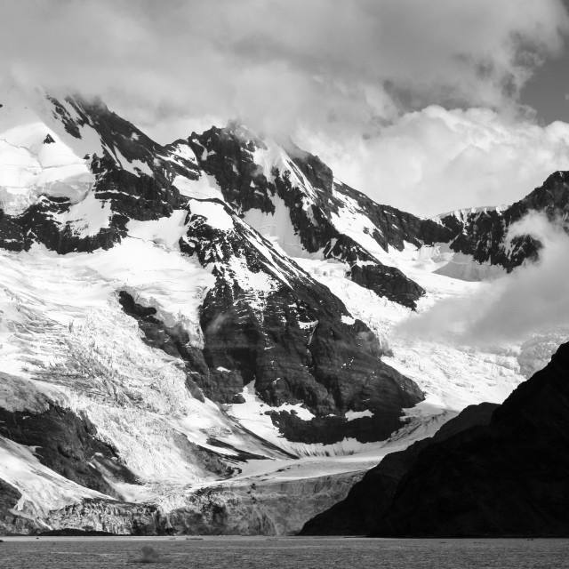 """Mountains of the Antarctic Peninsula"" stock image"